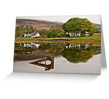Harbour near Portree Greeting Card