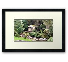 Temple of the Nymphs  Framed Print