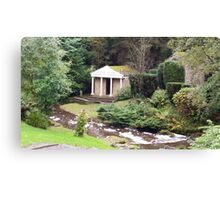 Temple of the Nymphs  Canvas Print