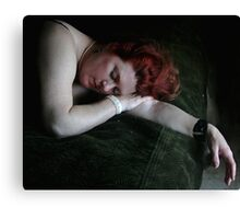 Sleep Canvas Print