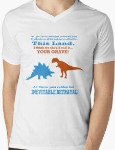 Curse Your Sudden But Inevitable Betrayal! Mens V-Neck T-Shirt