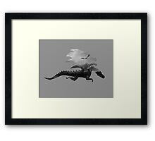 Dragon inception  Framed Print