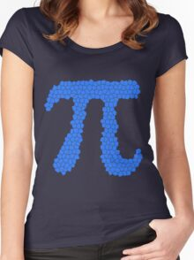 Pi (Mosaic Texture) Women's Fitted Scoop T-Shirt