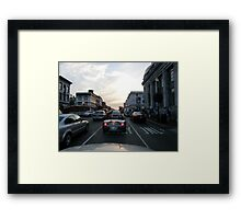 Traveling Framed Print