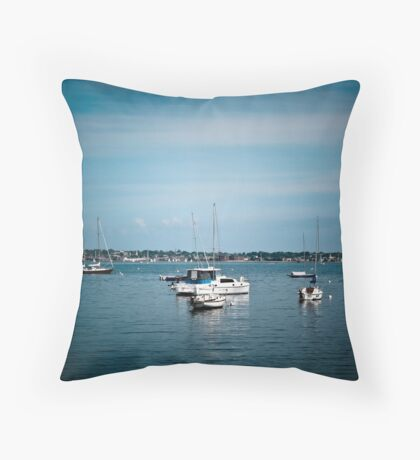 Jamestown RI USA Throw Pillow