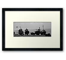 Fishing Boats - Beer, Devon Framed Print