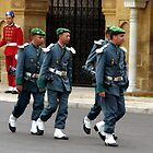 Marching in Formation - Moroccan Style by Alison Howson