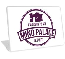 Sherlock - Mind Palace Laptop Skin
