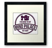 Sherlock - Mind Palace Framed Print
