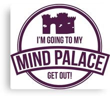 Sherlock - Mind Palace Canvas Print