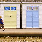 Beach Huts by JRHPhotography