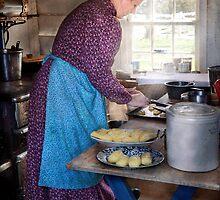 Baker - Preparing Dinner by Mike  Savad