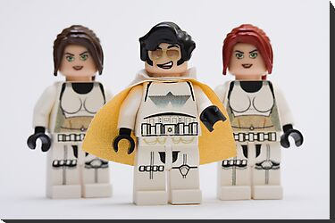 Elvis trooper with Fem-troopers by Kevin  Poulton - aka 'Sad Old Biker'