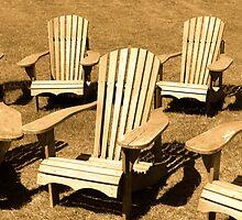 Muskoka Chairs by DavePlatt