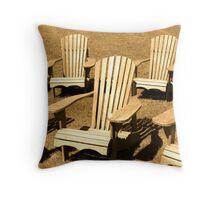 Muskoka Chairs Throw Pillow