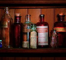 Pharmacy -  Oils and Inhalants by Mike  Savad