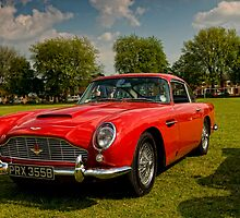 Aston Martin DB5 by Aggpup