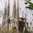 Sagrada Familia - Barcelona by Alison Howson