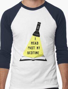 I Read Past My Bedtime Men's Baseball ¾ T-Shirt