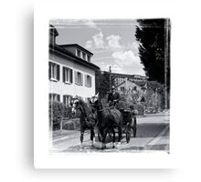 The Carriage  Canvas Print