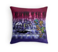 FF4 Bahamut Battle Throw Pillow