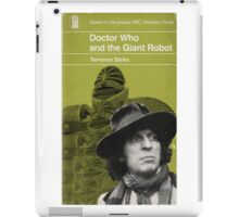 Doctor Who and the Giant Robot - Penguin style iPad Case/Skin