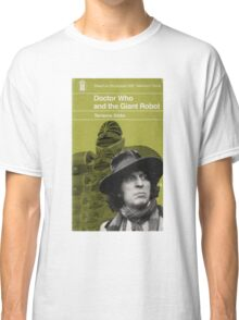 Doctor Who and the Giant Robot - Penguin style Classic T-Shirt