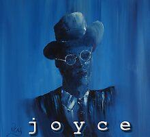 James Joyce Portrait. by redobyrne