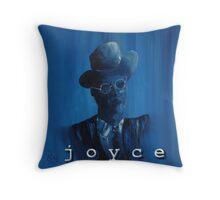 James Joyce Portrait. Throw Pillow