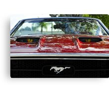 Mean Mustang Canvas Print