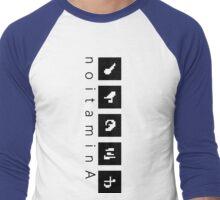 noitaminA Men's Baseball ¾ T-Shirt