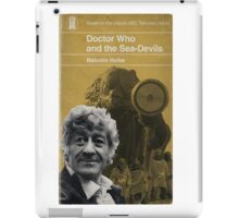 Doctor Who and the Sea-Devils - Penguin style iPad Case/Skin