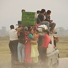 Nepali Color - The Bus Ride by lgusem