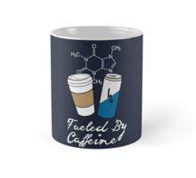 Fueled By Caffeine (White)  Mug