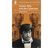 Doctor Who and the Cybermen - Penguin style Photographic Print