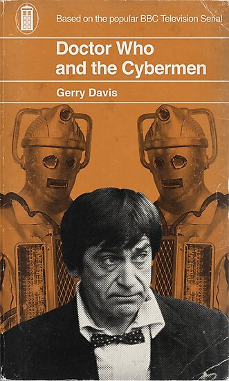 Doctor Who and the Cybermen - Penguin style by JGarrattley