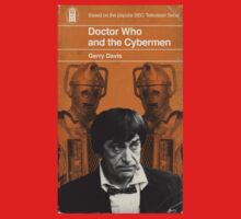 Doctor Who and the Cybermen - Penguin style Kids Tee
