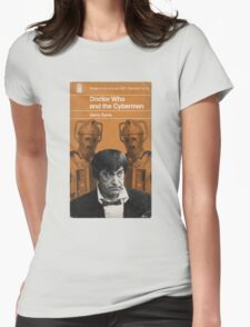 Doctor Who and the Cybermen - Penguin style Womens Fitted T-Shirt