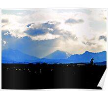 Heavenly Rockies Poster