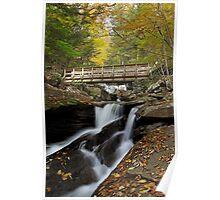 Crossing Kitchen Creek (Autumn) Poster