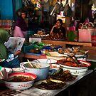 Market Scene by Werner Padarin