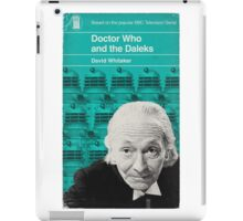 Doctor Who and the Daleks - Penguin style iPad Case/Skin