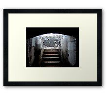 Reprieve From The Lions Framed Print