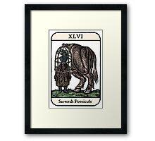The Seventh Poeticule Framed Print