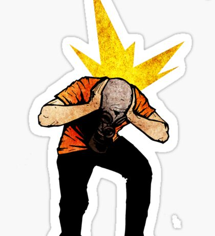 Migraine Sticker