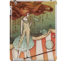 The tight-rope walker iPad Case/Skin