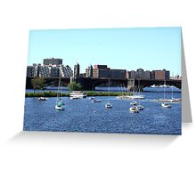 Nameless - Boston, Massachusetts Greeting Card