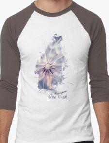 Dandelion Blue Men's Baseball ¾ T-Shirt
