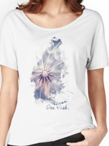 Dandelion Blue Women's Relaxed Fit T-Shirt