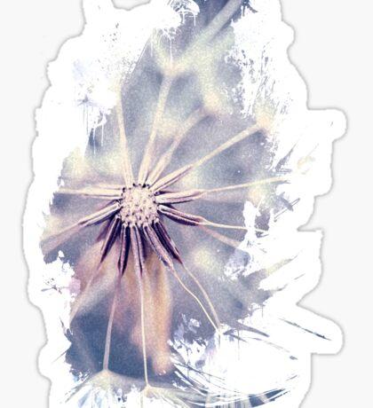 Dandelion Blue Sticker